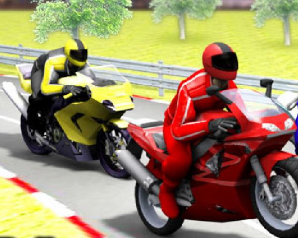 3D MotorBike Racing Game