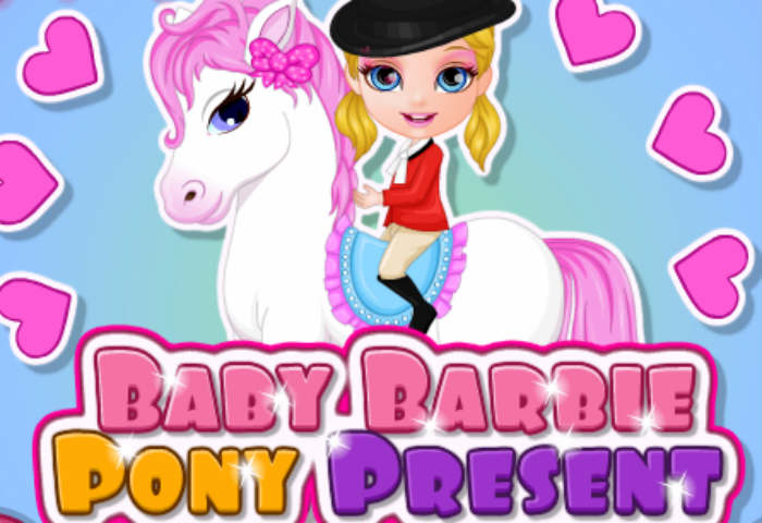 Baby Barbie Pony