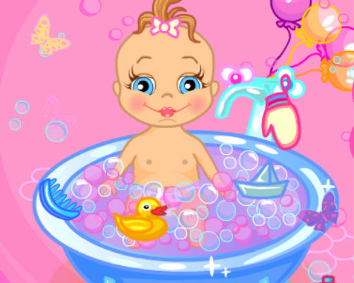 Baby Bathing Game