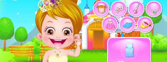 baby princess dress up games