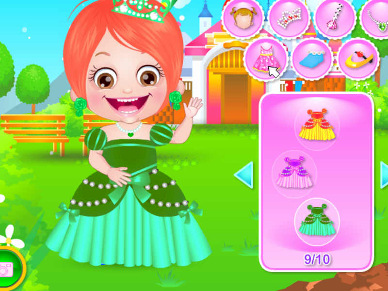 baby princess games