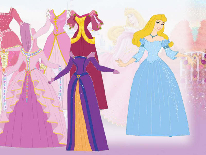 Disney Princess Fashion Designer Games