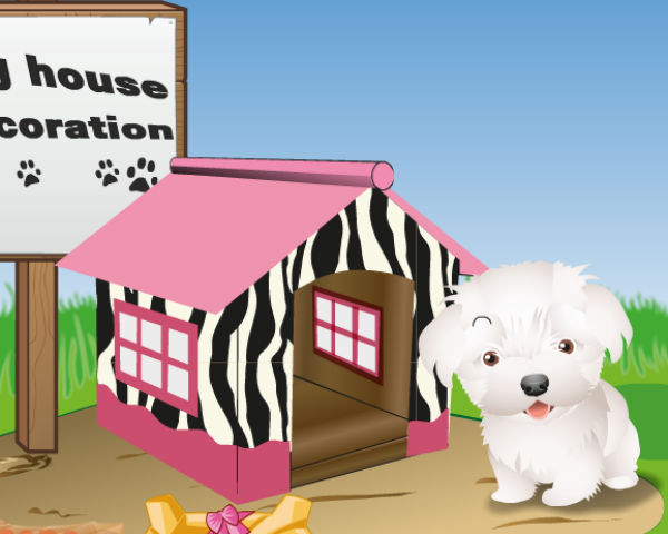 Dog House Decoration