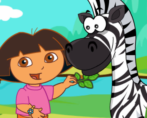 Dora Care Baby Zebra