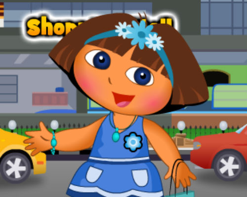 Dora Valentine Shopping