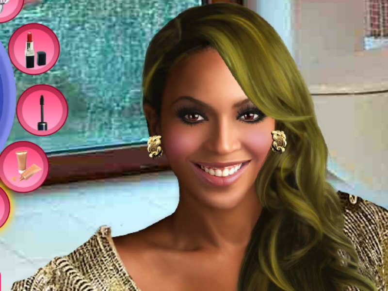 Beyonce Knowles Celebrity Makeover Celebrity Games For ...