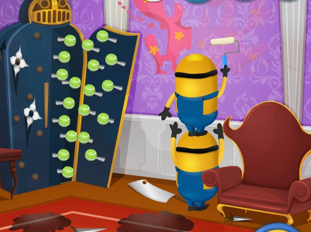 Minions House Makeover Screen Shots. Minions House Makeover