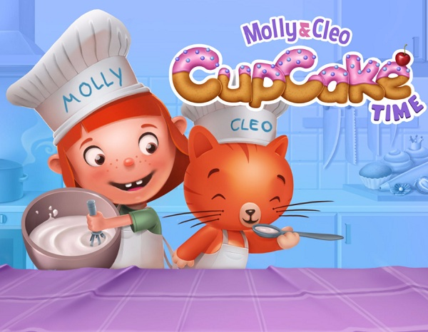 Molly & Cleo: Cupcake Time
