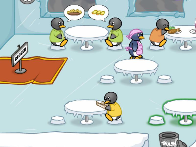 Pinguin Diner 4