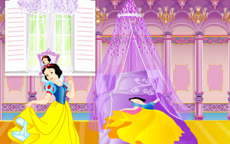 Disney princess room decoration for Baby room decoration games online