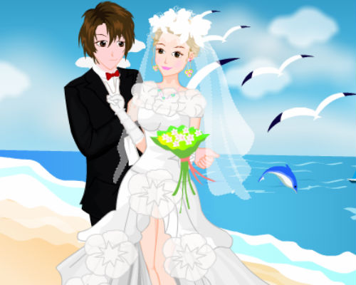 Seaside Wedding Pictures