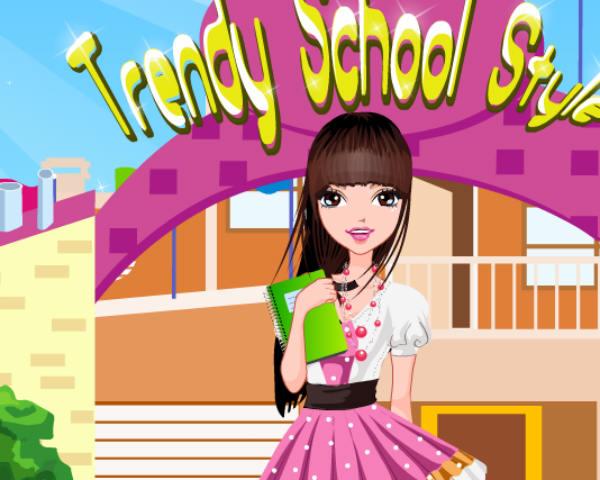 Trendy School Style