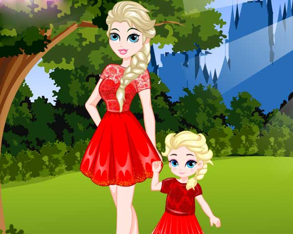 elsa-and-daughter-matching-dress0