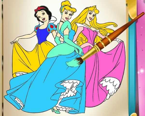 princess coloring book0