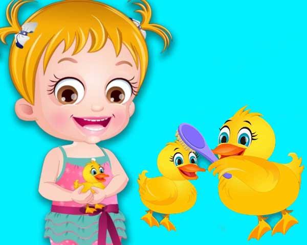 baby hazel duck life0
