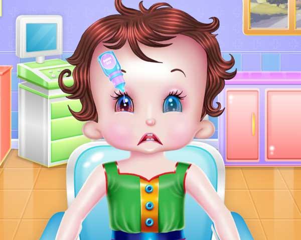 baby lisi hospital care0