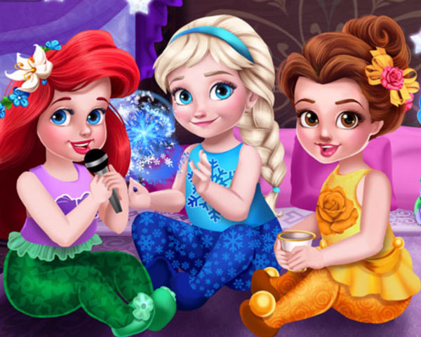 toddler princesses slumber party0