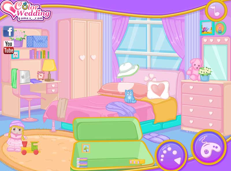 Amazing Room Makeover Game Part - 11: Baby Elsa New Room Makeover Screen Shots