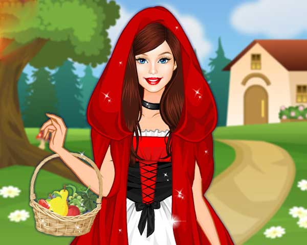 Barbie Red Riding Hood