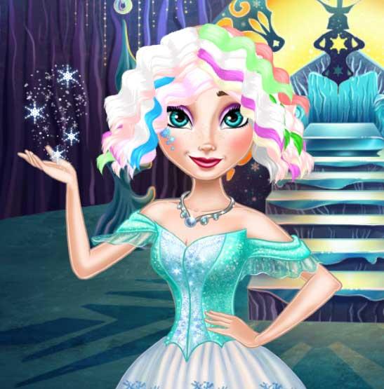Elsa Frozen Real Haircuts