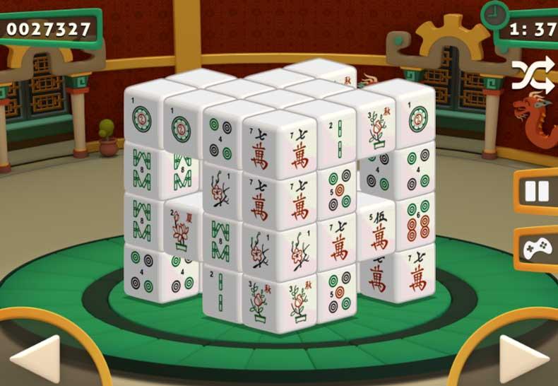 Mahjong Dimensions 3D Funny Games Mahjong Dimension 3d